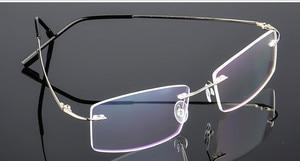 Image 3 - Eyesilove מוגמר אופנה נשים גברים קלים במיוחד משקפיים קוצר ראיה ללא שפה משקפיים קצרי רואי שאינו בורג ללא מסגרת משקפיים קוצר ראיה