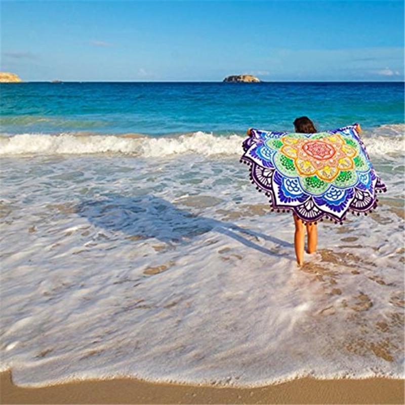Ourpgone Beach Sport Camping mat 1x Polygon Indian Tapestry Beach Yoga Mat Blanket Picnic Mat Towel Outdoor Hiking Sport Mat!