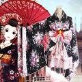 New Heavy Sakura Cosplay Anime Outfit Japanese Kimono Maid Lolita Costume Princess Dress Vestidos