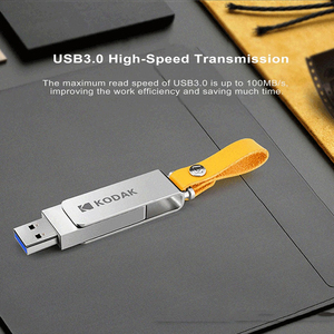 Image 3 - KODAK K133 Mini Metal USB Flash Drive 256GB 128GB 64GB 32GB 16GB pen drive USB 3.0 High speed Memory stick Unidad flash Pendrive