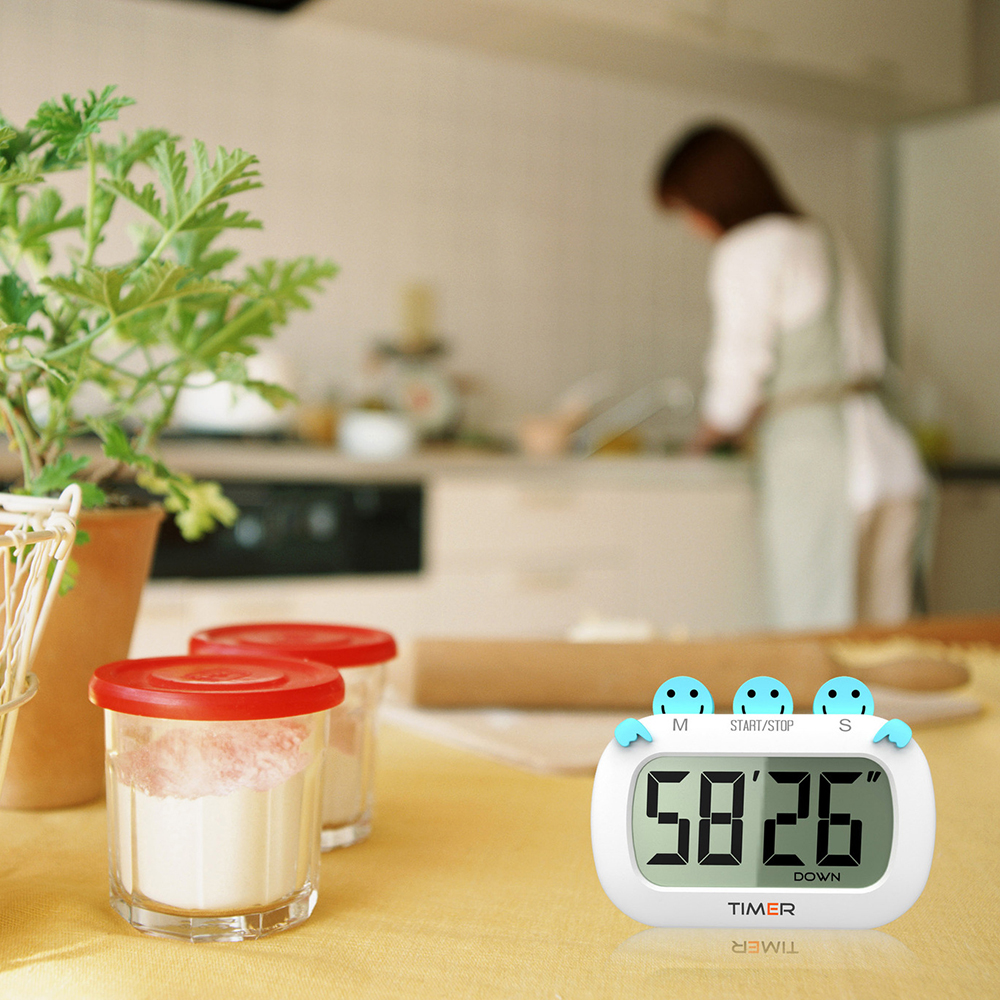 online get cheap modern kitchen timer aliexpresscom  alibaba group -  pcs modern digital multifunctional cartoon countdown clock timer kitchenreminder positive largescreen electronic