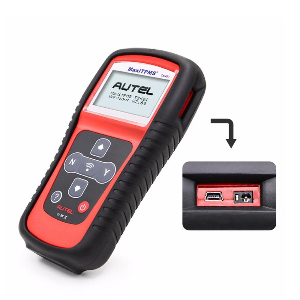 Image 4 - Autel MaxiTPMS TS401 система контроля давления в шинах OBD2 TPMS диагностический сканер инструмент активировать 315 433 МГц Программирование датчика