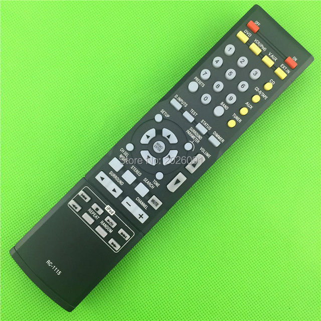 Brand New Remote Control for DENON RC-1115 DT-390XP AVR591AVR-390 AVR-391 DVD Home Theater AV Receiver System Remote Control