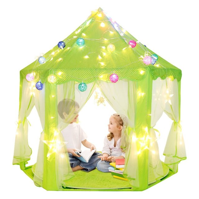 DalosDream Kids Indoor Princess Castle Play Tents Pink Princess Tent Children Game Play Toys  sc 1 st  AliExpress.com & DalosDream Kids Indoor Princess Castle Play Tents Pink Princess ...