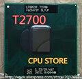 Lntel Core Duo T2700 Móvil Dual Core 2.33 GHz 3 M 667 MHz Procesador CPU BGA479 funciona en chipset 945 (trabajando 100% Envío Libre)