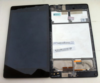 95 New Original LCD Touch Screen Digitizer With Frame For 2013 Asus Google Nexus7 FHD 2nd