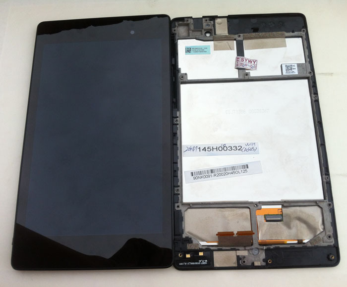 все цены на new Original LCD Touch Screen Digitizer with frame for 2013 Asus Google Nexus7 FHD 2nd Gen K008 me571 LTE/3G free shipping онлайн