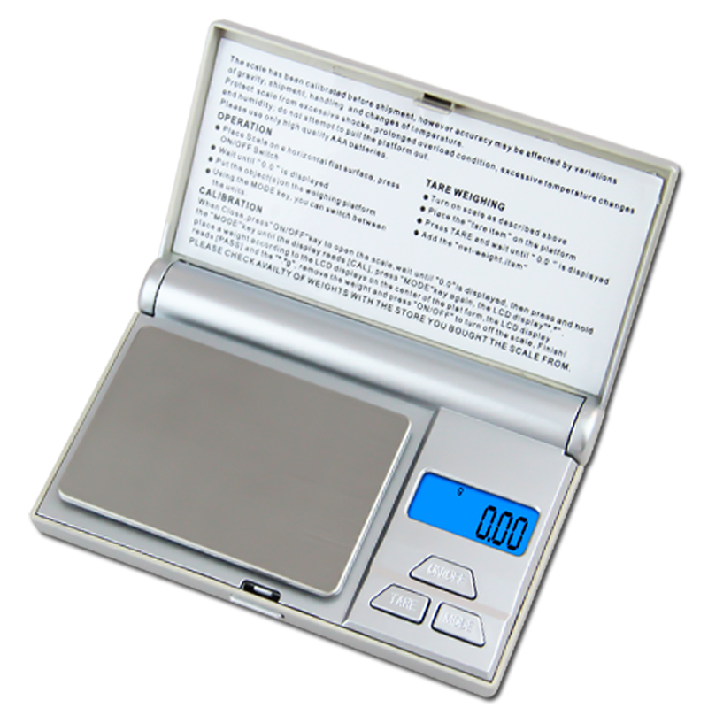 200g x 0 01g Mini Jewelry Weight Kitchen Scale Electronic Precision Balance 0 01g Pocket Scale Diamond Gold Tea Measure Machine in Weighing Scales from Tools