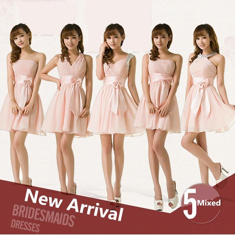 Popular Blush Pink Bridesmaid Dresses under 50-Buy Cheap Blush ...