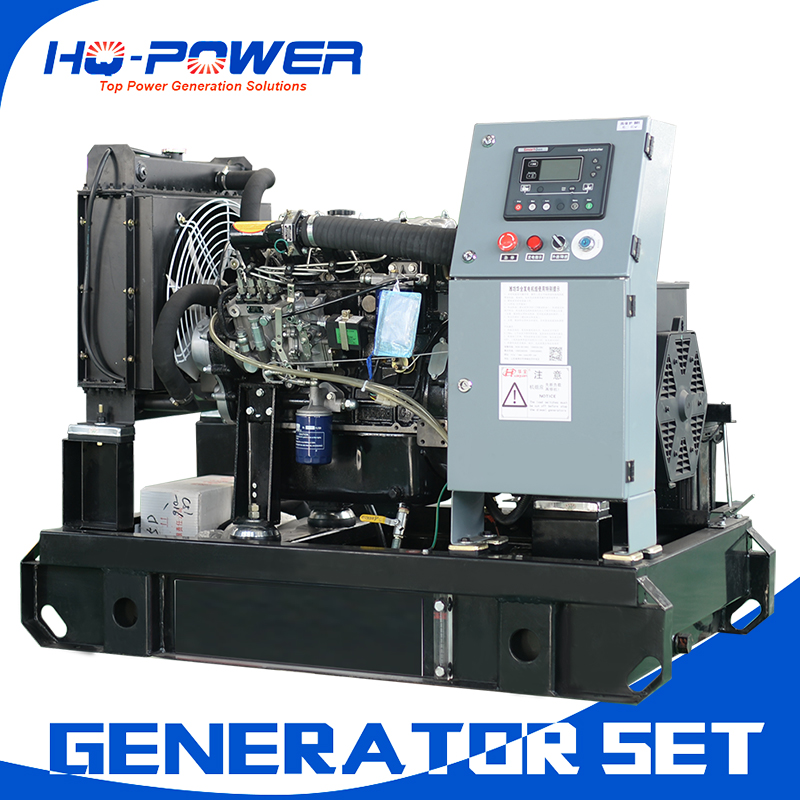 15kw 20 kva open type water cooled diesel generator with chinese famous engine