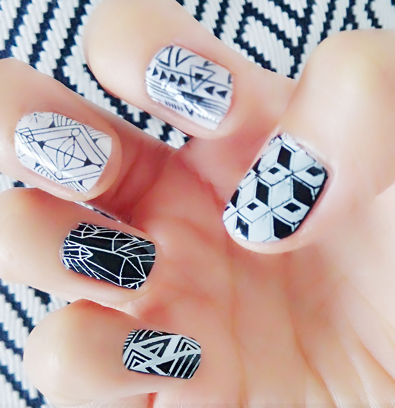 Fantastic Nail Art Konad Image - Nail Paint Design Ideas ...