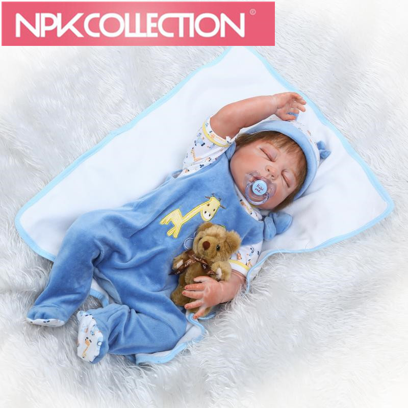 Latest Design Style Material Safety can bite Full siliconereborn dolls babies or doll ho ...