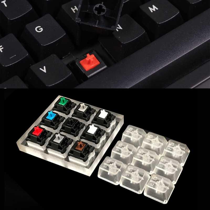 Переключатели для механической клавиатуры 9 вишня MX прибор для проверки Клавиатуры Комплект Keycaps инструмент тестирования
