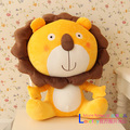 Hot sale 40cm 1pc cartoon plush animal sleep doll cute anime lion hold pillow boy children baby birthday gift stuffed toy