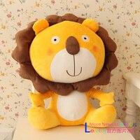 Sıcak satış 40 cm 1 adet karikatür peluş hayvan uyku bebek sevimli anime aslan tutma yastık çocuk çocuk bebek doğum günü hediyesi dolması oyuncak