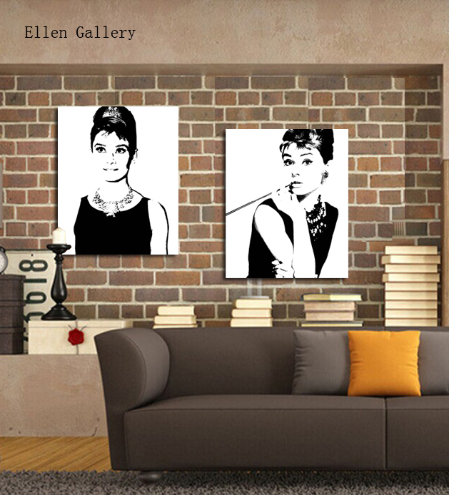 Home Goods Artwork: Figure Black And White Cuadros Home Goods Art Canvas