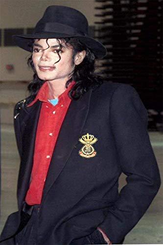 Майкл Джексон куртка пальто длинное приталенное двубортное с отложным воротником мужское Модное теплое длинное пальто Верхняя одежда с кепкой - 2
