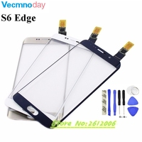 Vecmnoday Touch Screen Digitizer For Samsung Galaxy S6 Edge G9250 G925 G925F Touch Sensor Glass Panel