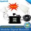 2017 を Lintratek デュアル Lcd ディスプレイ GSM 900 4 4G LTE 1800 リピータ Gsm 1800 モバイル信号ブースター 65dB デュアルバンド Repetidor Celular
