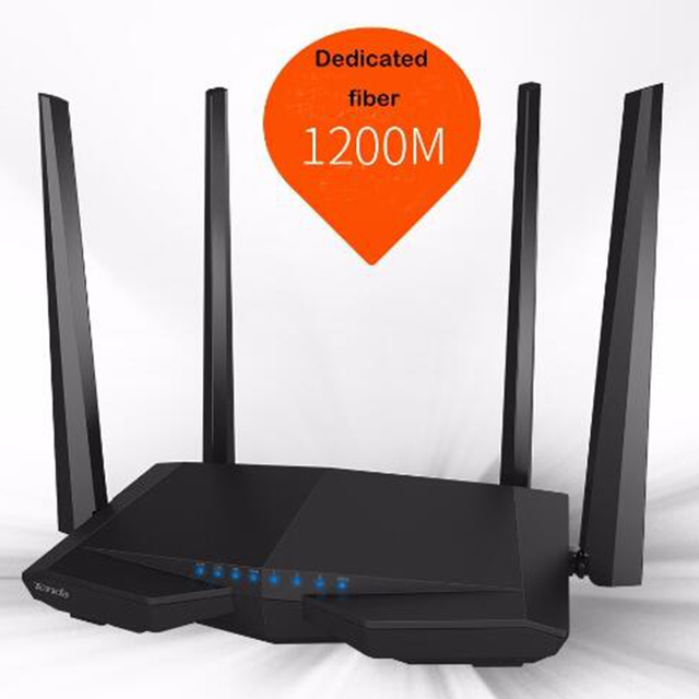 Tenda AC6 WiFi Router 1200Mbps Dual Band 11AC Wireless Wifi Repeater 2.4G/5.0GHz With 4 Antenna English Firmware