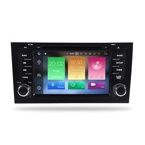 "Image 2 - 7 ""IPS Android 9.0 รถ DVD สเตอริโอ Autoradio สำหรับ AUDI A6 S6 RS6 1997 + เสียงมัลติมีเดียวิทยุ WIFI GPS Navigation headunit Player"