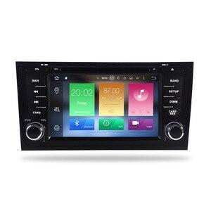 "Image 2 - 7 ""IPS Android 9.0 araba dvd stereo Autoradio AUDI A6 S6 RS6 1997 + multimedya ses radyo Wifi GPS navigasyon ana ünite oyuncu"