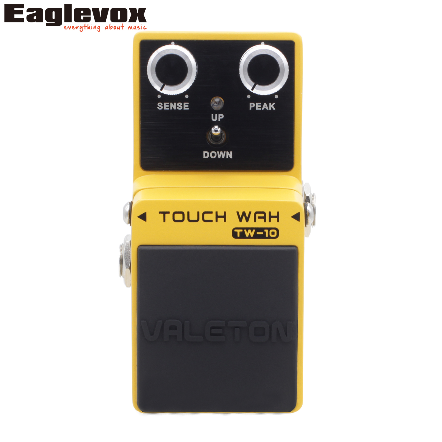Valeton TW-10 Touch Wah Guitar Effect Pedal Buffer Bypass Analog Auto Wah Effects for Electric Guitar and Bass фридрих шиллер драмы стихотворения