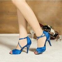 New Women Latin Dance Shoes for Kids Ballroom Dancing Bailarinas Ballroom for Women Latin Shoes