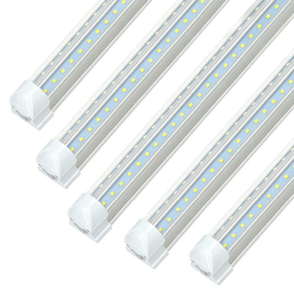 8 Ft 2 Lamp Fluorescent Strip Light White No Ssf2964wp 8ft: Aliexpress.com : Buy V Shaped LED Tube Lights 2ft 3ft 4ft