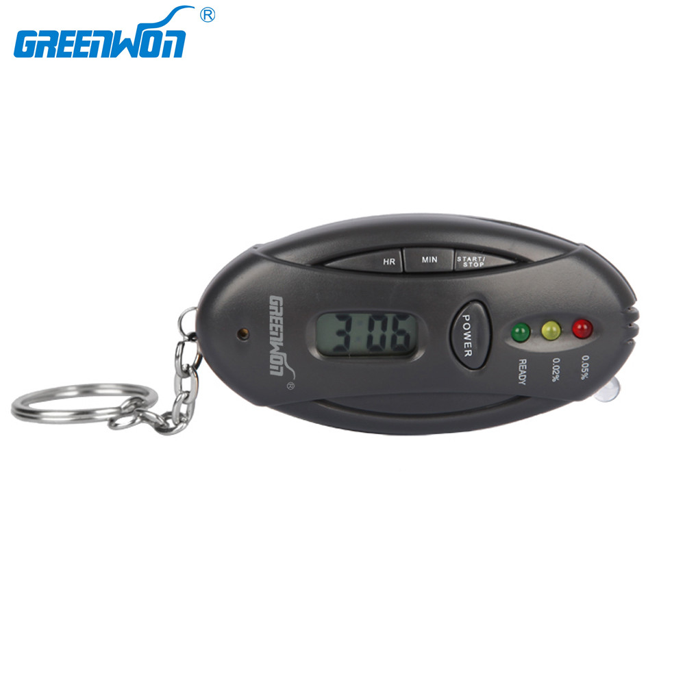 GREENWON Digital Alcohol Tester Analyzer Breath Breathalyzer