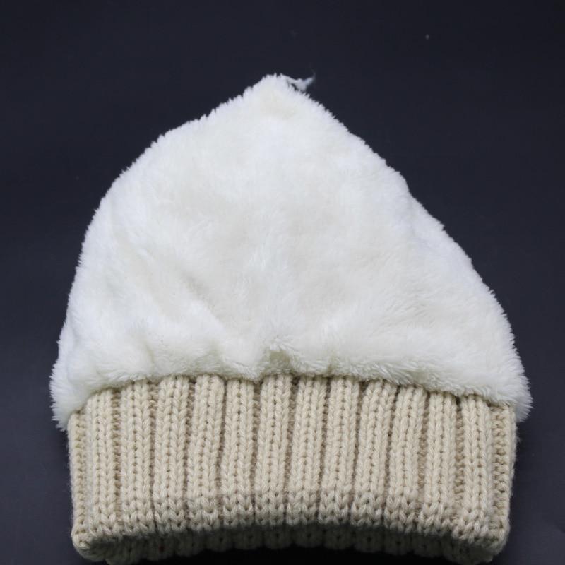 2019 New Winter Beanie Cap Frauen Echt Waschbär Pelz Pompon Hut Dick - Bekleidungszubehör - Foto 4
