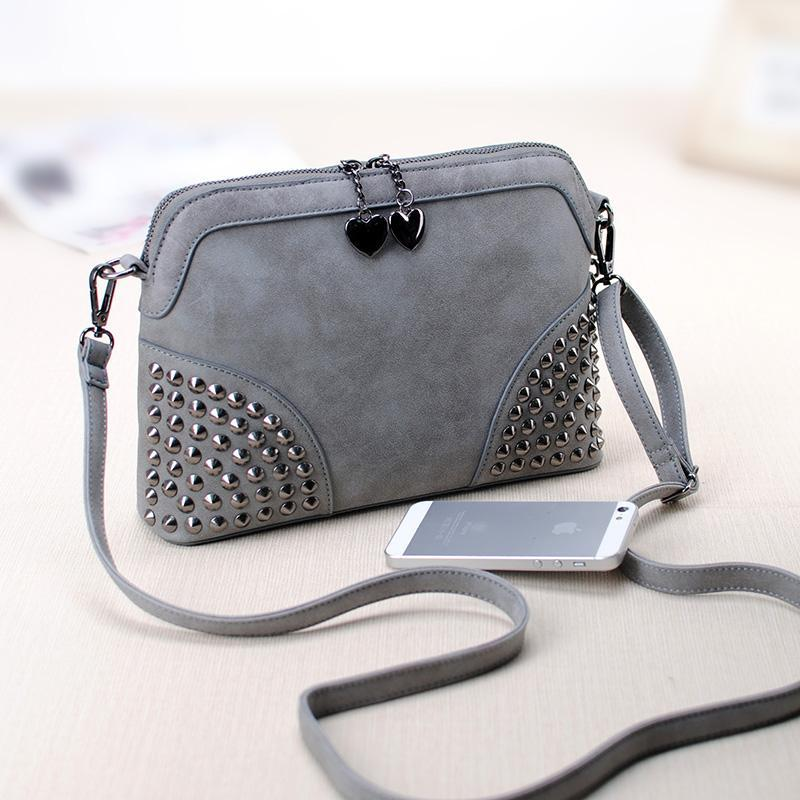 Women bag vintage shell chain small bag scrub fashion messenger bag female handbag