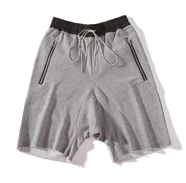 Justin Bieber Stesso Pantaloncini Uomini Hip hop Streetwear Cedimenti  Shorts Elastico In Vita di Grandi Dimensioni eb604af955e7