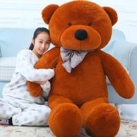 Giant teddy bear 220cm/2.2m large big stuffed soft toys animals plush life size kid children baby dolls girls toy valentine gift