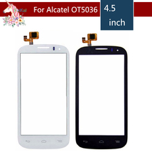 10pcs/lot For Alcatel One Touch POP C5 5036 OT 5036 5036D 5037E OT5036 Touch Screen Digitizer Sensor Outer Glass Lens Panel цена