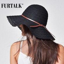 Women Fashion Design Beach Sun Hat Foldable Brimmed Straw Hat