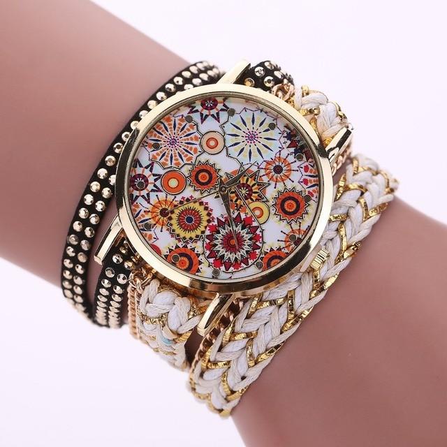 top fashion women's watch with 2 layers belt , good quality ,fashion women's bra