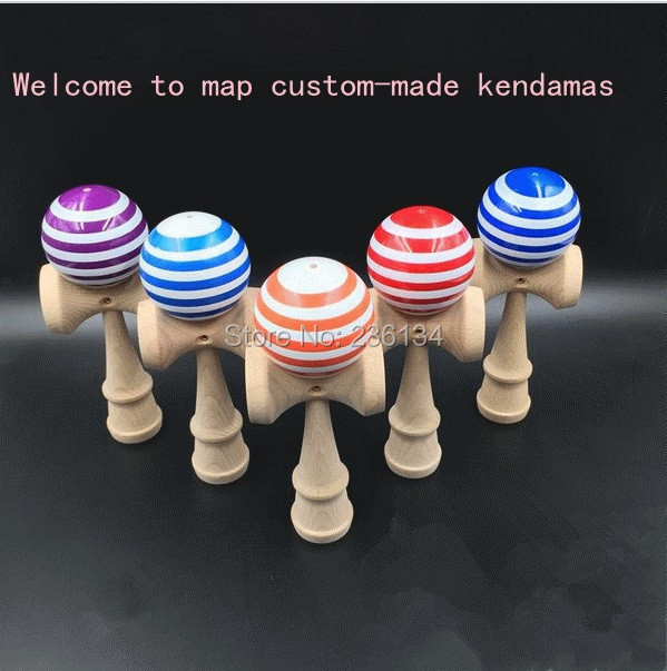 Via Dhl Fedex 25 Cm Jumbo Professional Kendama Toy Traditionnelle