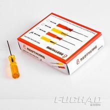 Отвертка швейные инструменты внутренний шестиугольный Размер отвертки: 1,6 отвертка желтая ручка