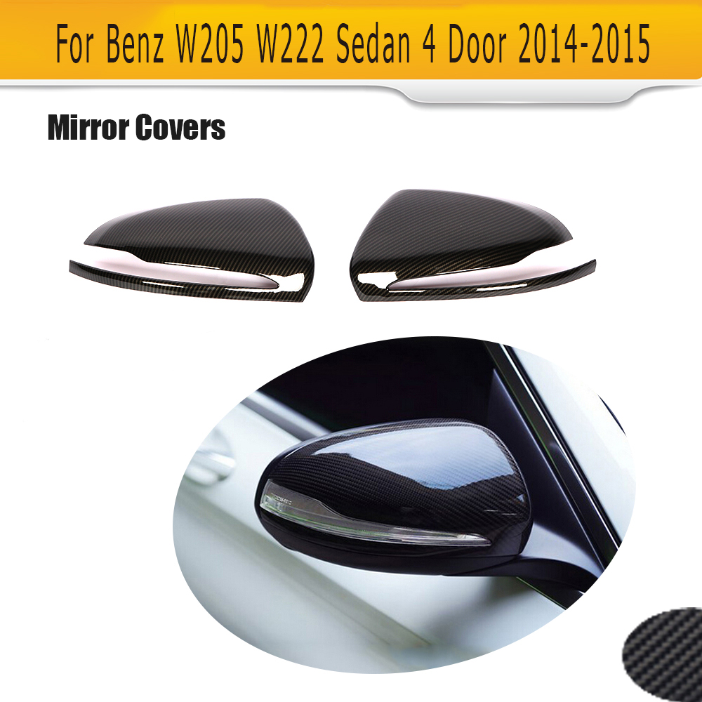 Carbon Fiber For Mercedes Benz  E-CLASS W211 Rear View Side Mirror Cover §