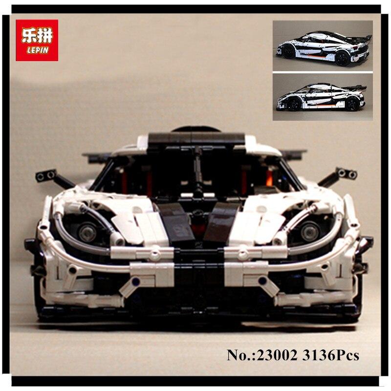 Lepin 23002 3136 stücke Technic Serie Die MOC-4789 Ändern Racing Auto Set Kinder Pädagogisches Bausteine Ziegel Spielzeug