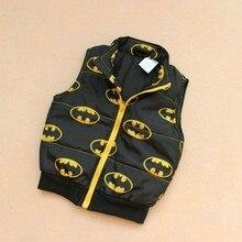 Kids супермен домашняя бэтмен new розничная рукавов малыш девочки теплый мальчики