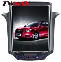 ZWNVA Tesla style IPS Screen Newest Android 6.0 64+2GB Car DVD Player GPS Navigation Radio Screen For CHEVROLET CRUZE 2013 2017