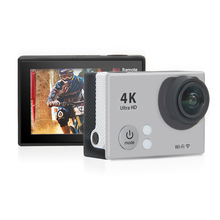 Mini Action Camera 100% Original H2se Ultra HD 4K 30M sport 170D lens 2.0′ LCD 1080p FHD go waterproof pro camera Mini Video cam