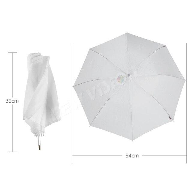 "Godox 37 ""/94 cm blanc plié diffuseur doux parapluie AD-S5 pour Godox Witstro AD200 AD180 AD360 AD360II Flash Speedlite"