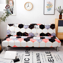 Parkshin New Soft All-inclusive Folding Sofa Bed Cover Tight Wrap Towel Couch Without Armrest housse de canap cubre
