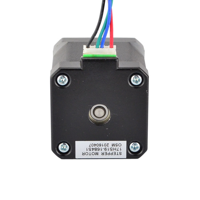 5PCS 3D Printer Motor 45Ncm/64oz.in 1.68A Nema 17 Stepper Motor Bipolar 4-wire 1m Cable
