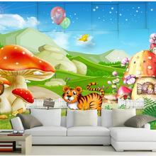 3D wallpaper custom picture mural wall paper Animals mobiliz