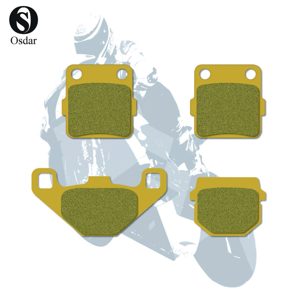 Motorcycle Disc Brake Pads Front Rear For KAWASAKI KX 80  L1/L2/L3/N1/N2/N3/R1 88-91 KX 80 R2/R3/R4/R5R6 92-96 KX 100 B5/B6 95-96