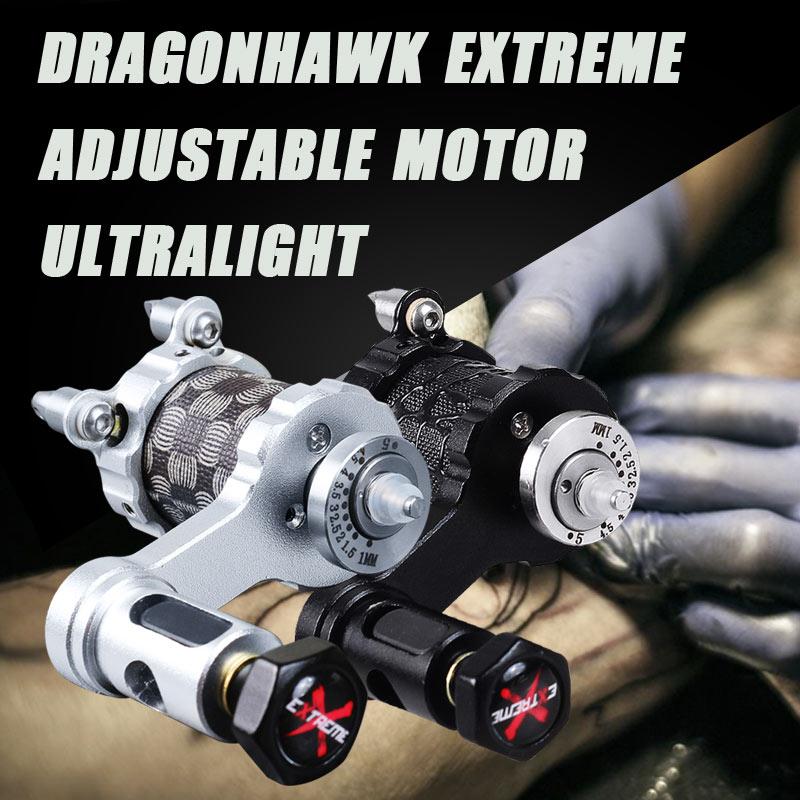 Регулируемый двигателя татуировки роторная машина профессиональных сильный тихий мотор татуировки вкладыша Shader поставляет